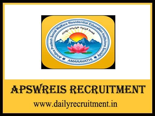 APSWREIS Recruitment 2019
