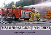 Assam Fire Services Recruitment 2019