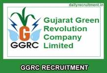 GGRC Recruitment 2019