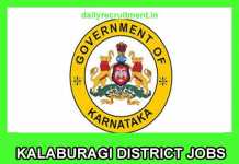 Kalaburagi District Jobs 2019