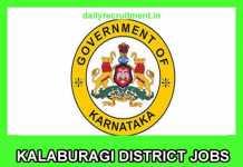 Kalaburagi District Jobs 2019
