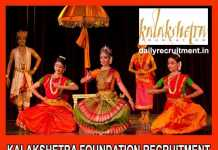 Kalakshetra Foundation Recruitment 2019
