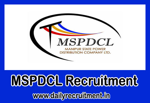 MSPDCL Recruitment 2019