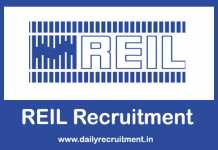 REIL Recruitment 2019