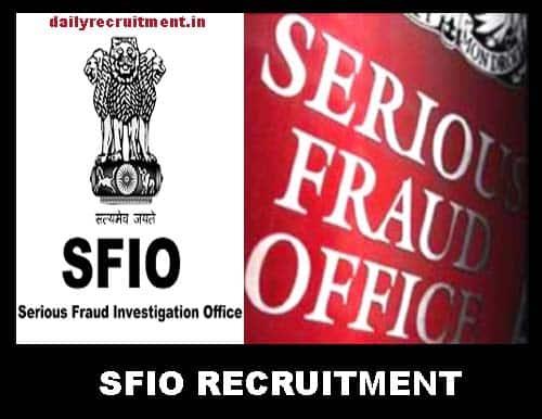 SFIO Recruitment 2019