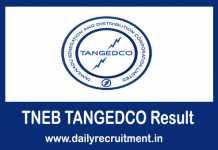 TNEB TANGEDCO Result 2019