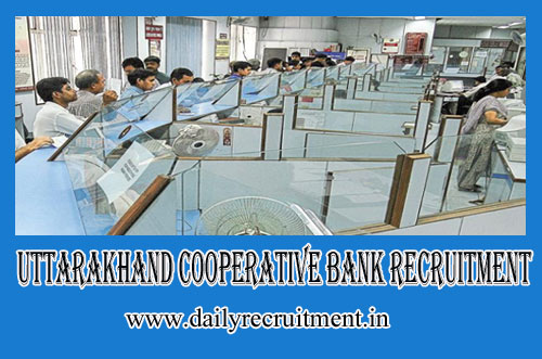 Uttarakhand Cooperative Bank Recruitment 2019