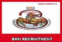 BHU Recruitment 2019