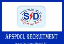APSPDCL Recruitment 2019
