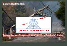 APTRANSCO Recruitment 2019