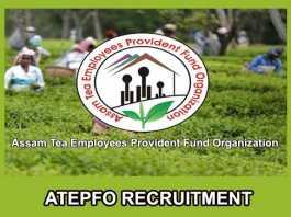 ATEPFO Recruitment 2019