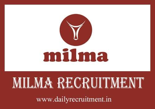 MILMA Recruitment 2021