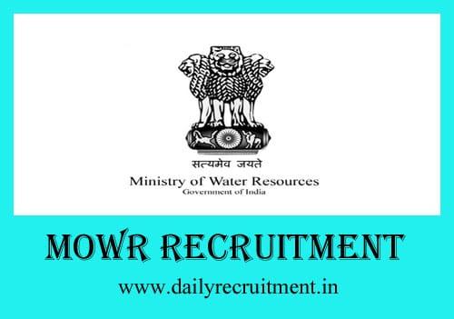 MOWR Recruitment 2019