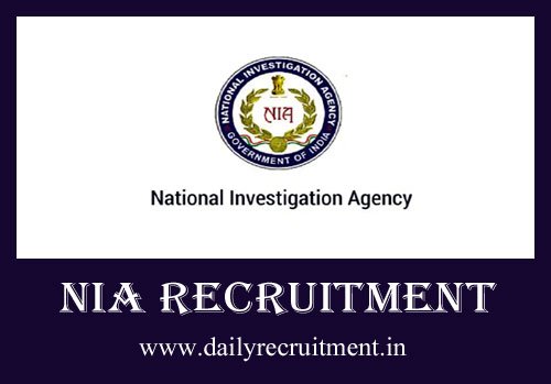NIA Recruitment 2020