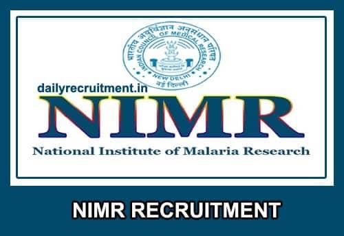 NIMR Recruitment 2021