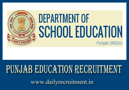 Punjab Education Recruitment 2020