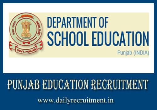 Punjab Education Recruitment 2020