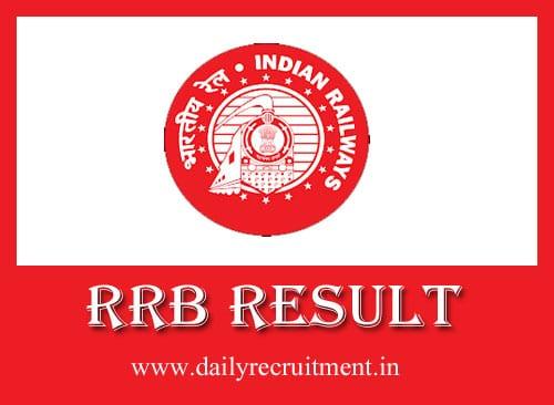 RRB Result 2019