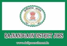 Rajnandgaon District Jobs 2019