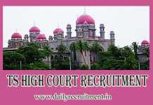 TS High Court Recruitment 2019