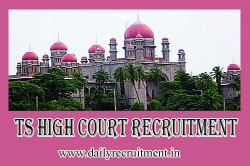 TS High Court Recruitment 2020