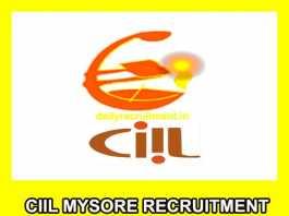 CIIL Mysore Recruitment 2019