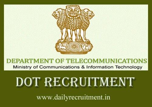 DOT Recruitment 2019