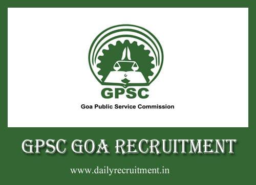 GPSC Goa Recruitment 2019, 32 AAO & Other Vacancies, Apply