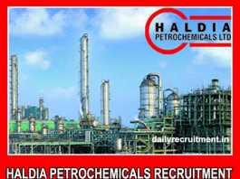 Haldia Petrochemicals Recruitment 2019