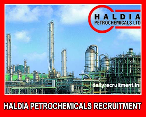 Haldia Petrochemicals Recruitment 2019