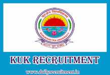 KUK Recruitment 2019