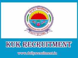 KUK Recruitment 2019