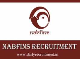 NABFINS Recruitment 2019