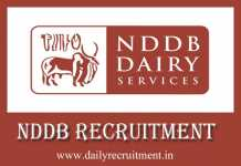NDDB Recruitment 2019