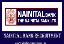 Nainital Bank Recruitment 2019