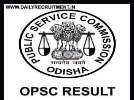 OPSC Result 2019