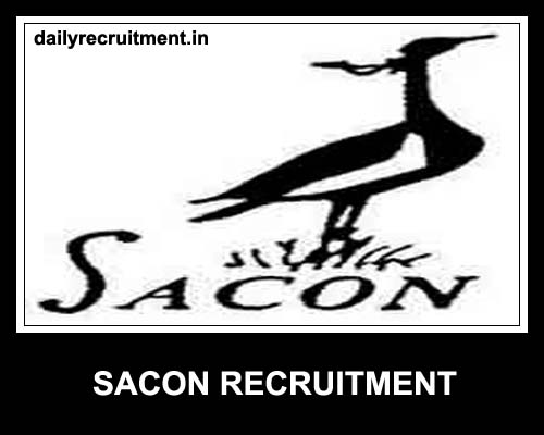 SACON Recruitment 2021