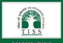 TISS Recruitment 2019