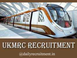 UKMRC Recruitment 2019