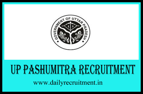 UP Pashumitra Recruitment 2019, 9032 AHW & Other Vacancies, Apply
