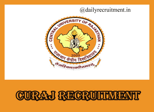 CURAJ Recruitment 2020