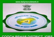 Cooch Behar District Jobs 2019