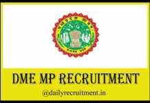 DME MP Recruitment 2019