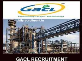 GACL Recruitment 2019