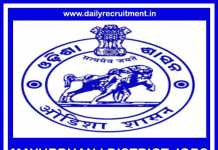 Mayurbhanj District Jobs 2019