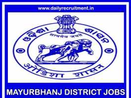 Mayurbhanj District Jobs 2019