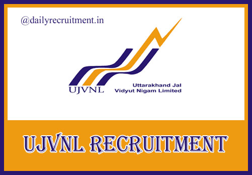 UJVNL Recruitment 2019