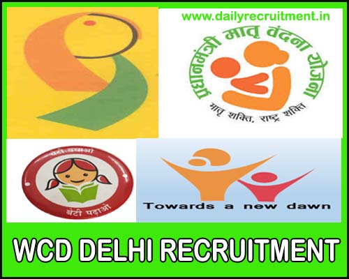 WCD Delhi Recruitment 2020