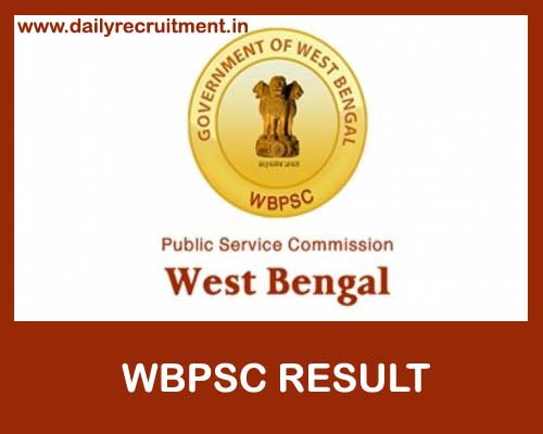WBPSC Result 2019