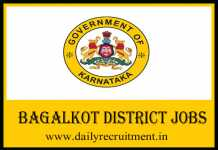 Bagalkot District Jobs 2019